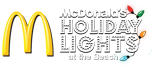 McDonalds Holiday Lights